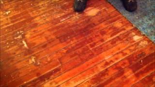 Refinishing Wood Floors Part 1