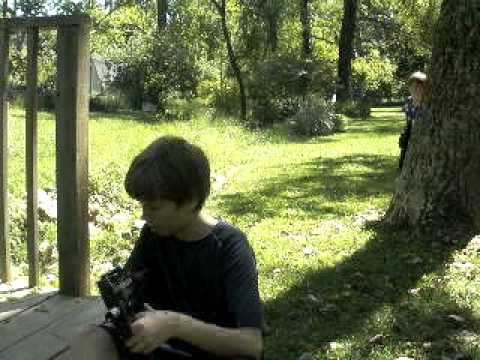 Airsoft Wars The Backyard Battle Youtube