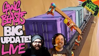 Gang Beasts Train Update LIVE - Game Society Pimps