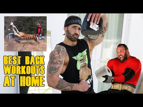Best Quarantine Home Workouts: Back
