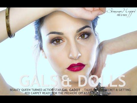 Gal Gadot Make Up Tutorial   Simona Nappi MUA