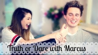 Truth or Dare with Marcus Butler | Zoella
