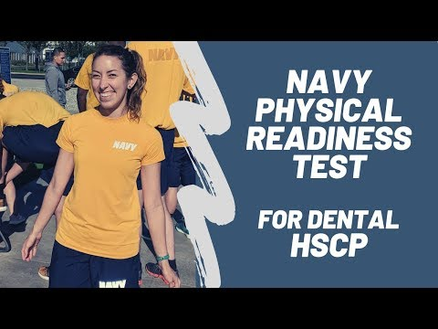 Navy Physical Readiness Test For Dental HSCP
