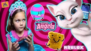 TALKING ANGELA CALLS ME TO PLAY ROBLOX! SCARY PHONE CALL TO TODDLER! STOP CALLING PEOPLE! WPFG