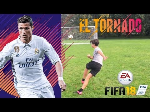 HOW TO DO THE EL TORNADO IN REAL LIFE AND PS4/XBOX ONE - Tutorial (New FIFA 18 Skill Move) Ronaldo