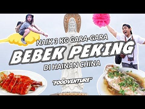 PARAH!! Makan Bebek Sampe BOSAN ft. TanboyKun di Hainan Island SanYa China   | FOODVENTURE eps.1