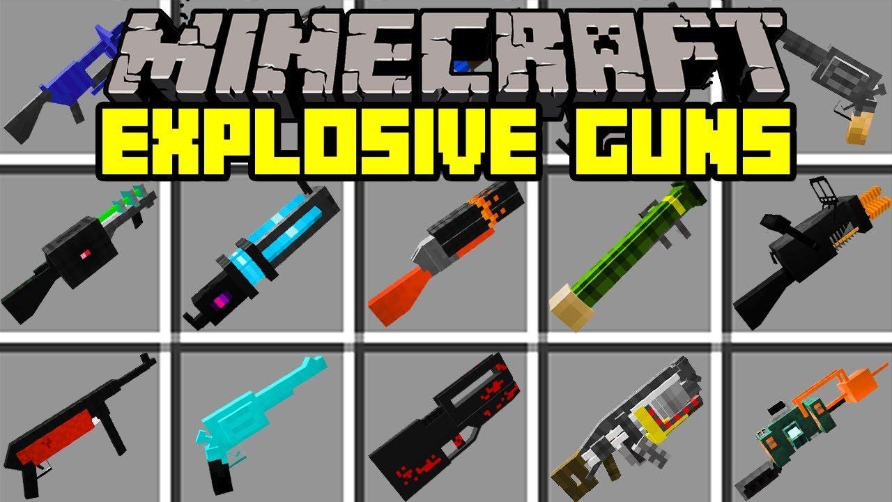Minecraft Zombie Apocalypse Mod With Guns