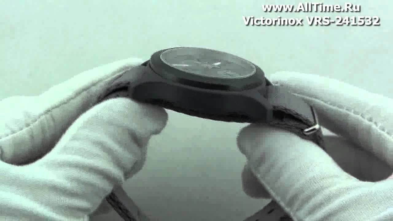 Обзор. Мужские наручные часы Victorinox VRS-241532 - YouTube