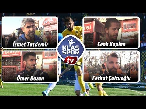 Ankaragücü - Sarıyer maçı sonrası Teknik Heyet ve Futbolcular