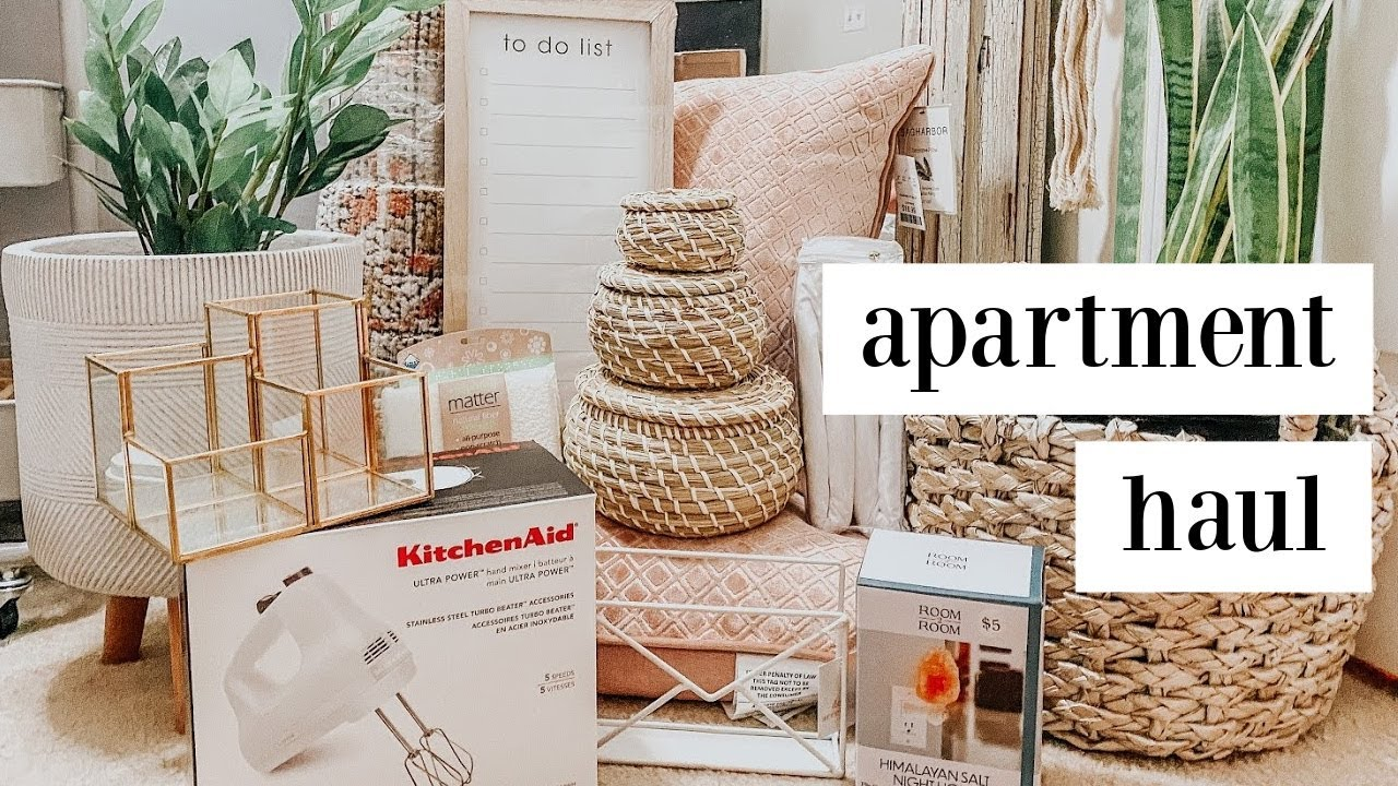 college apartment haul | homegoods, target + ikea! part 3