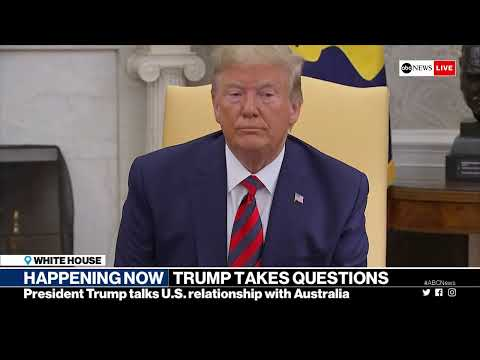 WATCH LIVE: President Trump takes questions in Oval Office