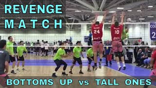 Bottoms Up vs Tall Ones (FULL GAME 9 Volleyball) - USAV 2017 Nationals
