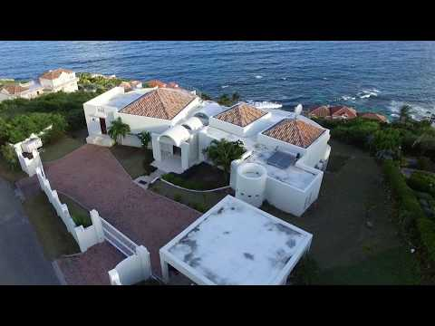 VILLA SKY BLUE... luxurious 4BR ocean view villa, Dawn Beach, St Maarten