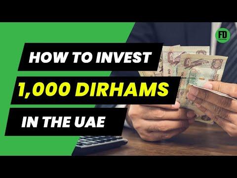 How to Invest 1,000 Dirhams in UAE