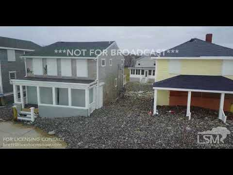 3-6-2018 Scituate, Ma Noreaster damage as residents prep for another storm