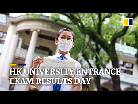 Seven students achieve perfect scores in Hong Kong's university entrance exams