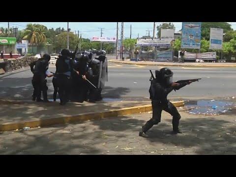 Protesto contra reforma da Previdência deixa 10 mortos na Nicarágua   SBT Brasil (21/04/18)