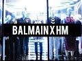 FULL Balmain x H&M Sunset Blvd. Launch Vlog | #HMBALMAINATION