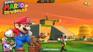 Nintendo Wii U Super Mario 3D World Мир 1 World 1 ...