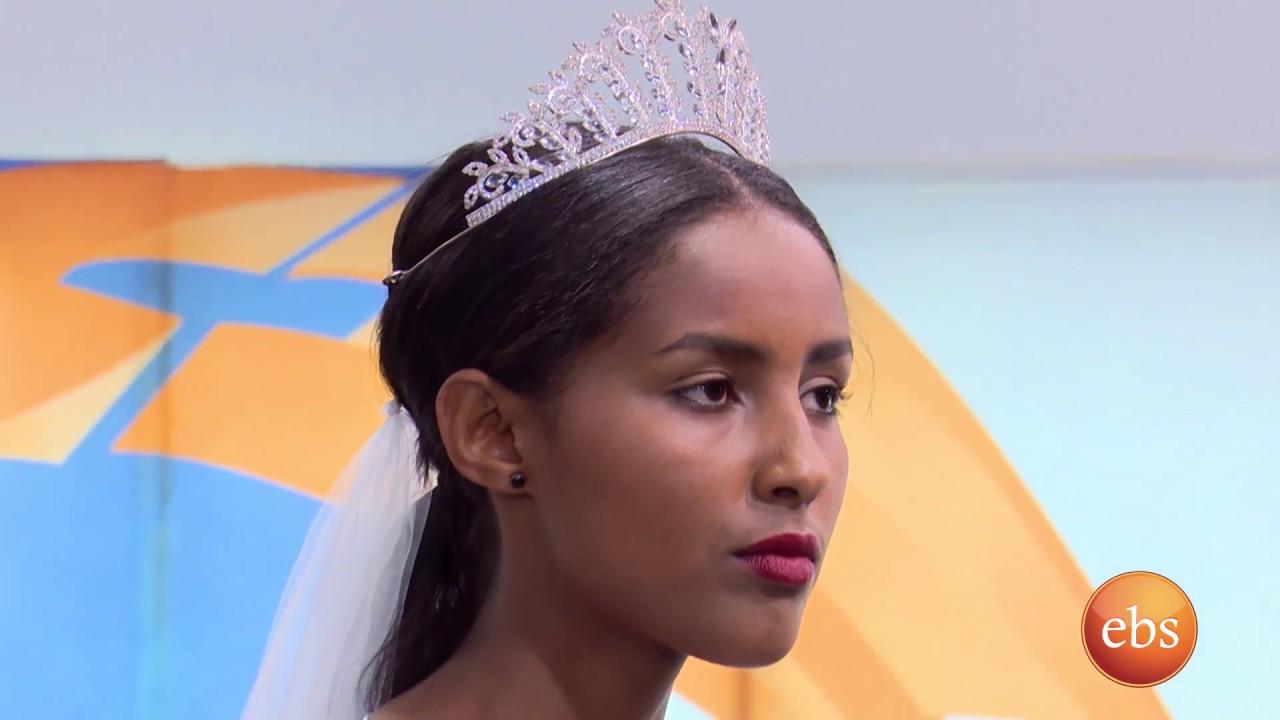 Ethiopia's Famous Actress Hanan Tarq Promoting Enku design