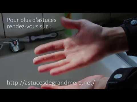 comment enlever le cambouis sur vos mains - youtube