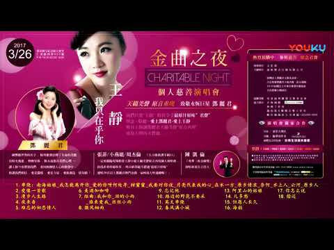 (音頻) 王靜 『我只在乎你』 致敬鄧麗君--台北金曲之夜--個人慈善演唱會 20170326 Wang Jing Taipei Charitable Night Concert (Audio)