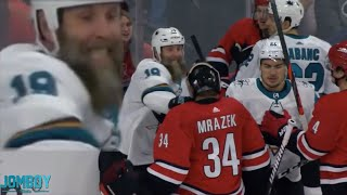 joe-thornton-drops-hurricanes-goalie-with-one-punch-a-breakdown