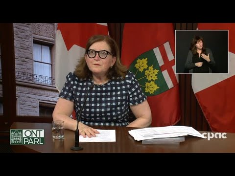 Ontario health officials provide COVID-19 update – March 29, 2021