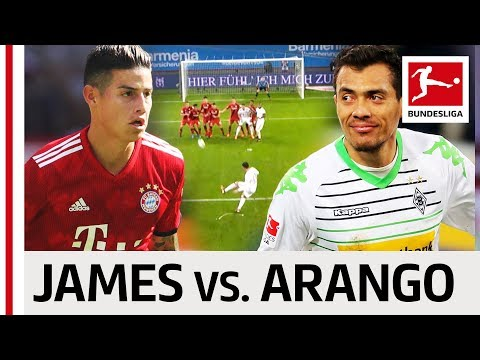 James Rodriguez vs. Juan Arango - Who has the Best Left Foot in South America?