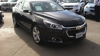 2014 Chevrolet Malibu 2LTZ EcoTec Turbo (Start Up, In Depth Tour, and Review)