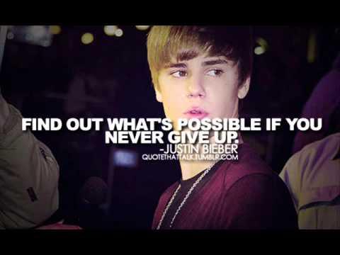 *Justin Bieber Quotes*