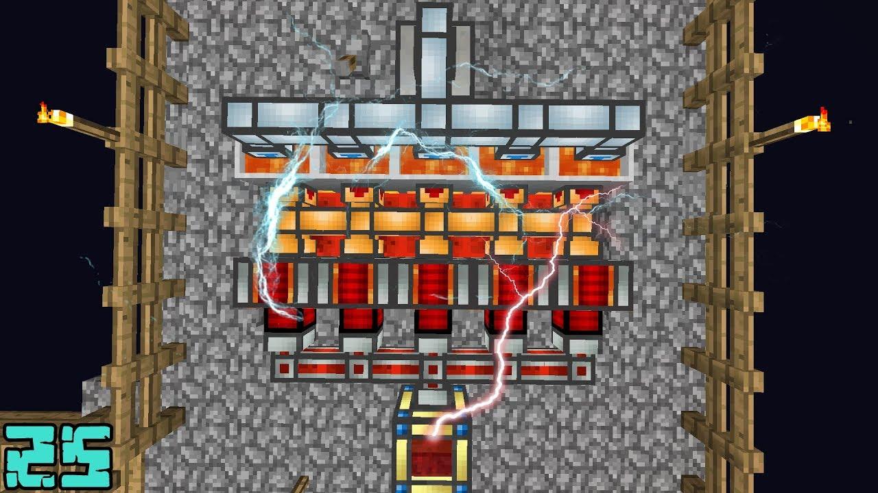 e95d974e1da Minecraft  GERADOR DE ENERGIA INFINITA !! - Agrarian Skies 25 ‹ Alone ›