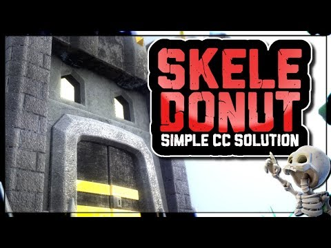 SKELE DONUT CLAN CASTLE SPELL TAKEDOWN | MAKE THE CC DISAPPEAR | Clash of Clans