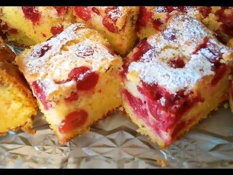 Bakina kuhinja  - kako se pravi najbolhji kolač sa višnjama