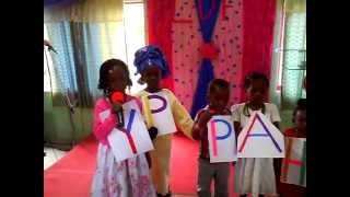 Loves Domain Family children church presentation in word explosion 2013
