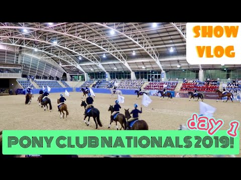 Pony Club Nationals 2019! Arriving & Opening Ceremony!