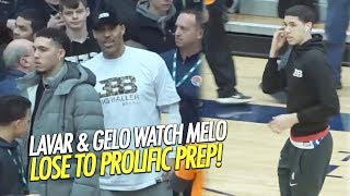 Gelo & LaVar Ball Witness LaMelo Ball & Spire get WHOOPED by Prolific Prep