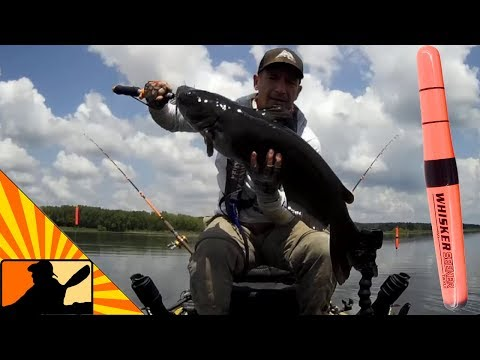Catfishing In The Weeds (Weighted Slip Floats For The Win!)