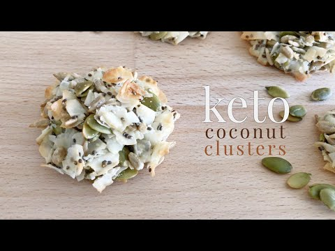 Keto Coconut Clusters
