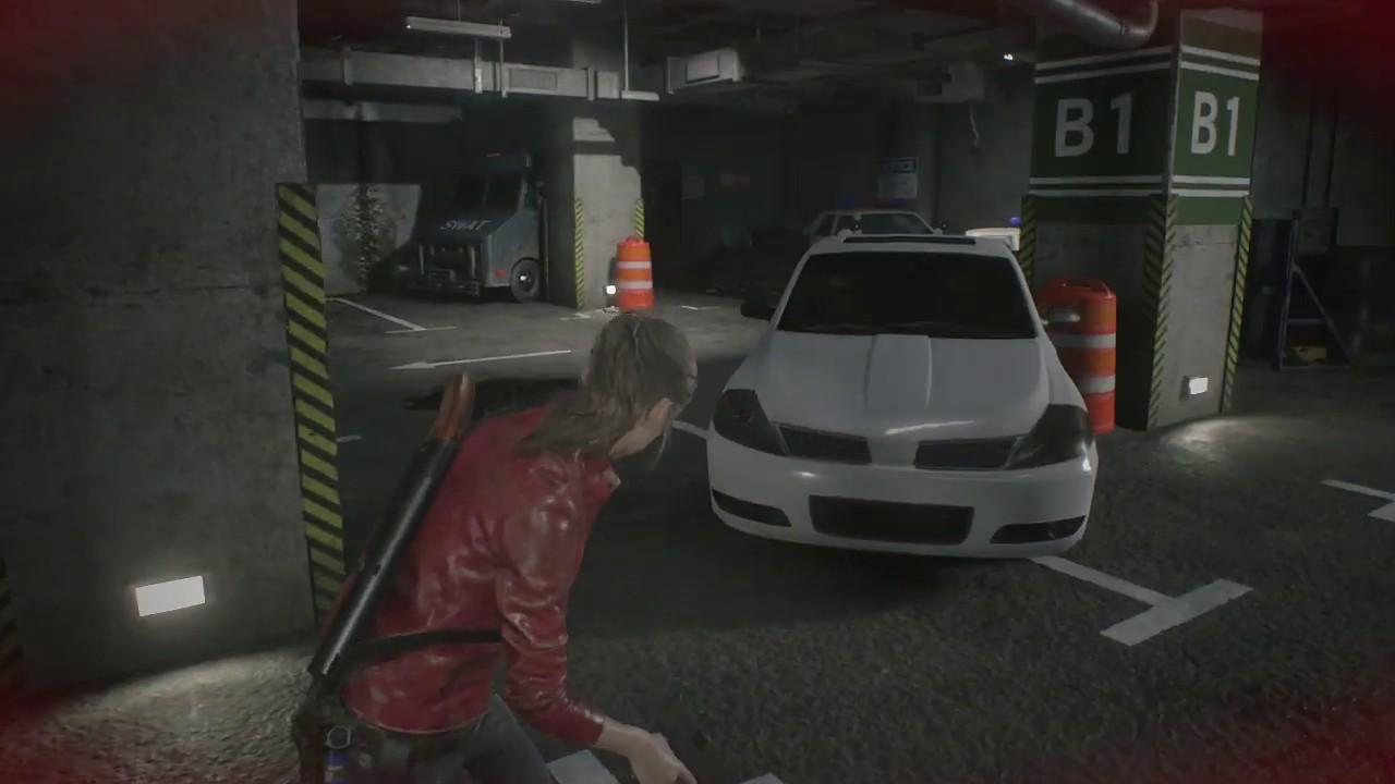Resident Evil 2 Use Car Key 7439 Get Jmp Hp3