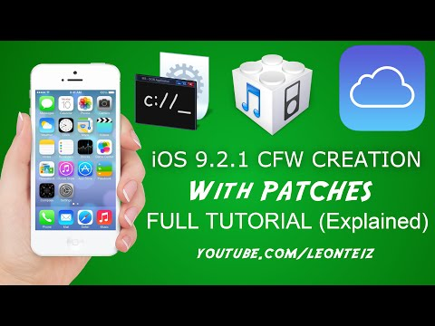 How To Create Custom Firmware (CFW) For ICloud Bypass [PATCHED]