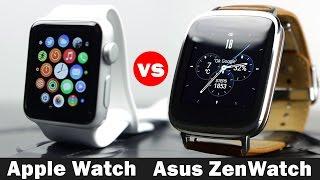 Apple Watch vs Asus ZenWatch - Smartwatch Comparison