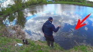 Рыбалка на щуку или что можно поймать на деревенском пруду, если поесть вкусное сало
