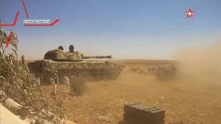 Сирийские «Грады» выжигают снайперов ИГИЛ*