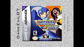 Mega Man & Bass - Playing as Mega Man - King (1st Level)