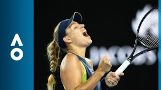 Angelique Kerber v Maria Sharapova match highlights (3R) | Australian Open 2018