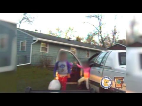 8-Year-Old Boy Caught by Police Driving His Younger Siblings