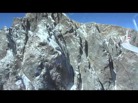 Ridge run in the Andes, Santiago Chile