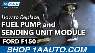 How To Replace Fuel Pump and Sending Unit 97-04 Ford F150