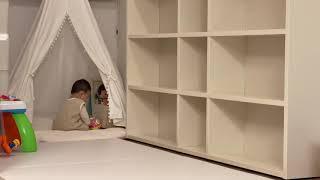 알파룸인테리어, 아기책…
